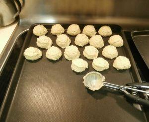 unbaked falafel