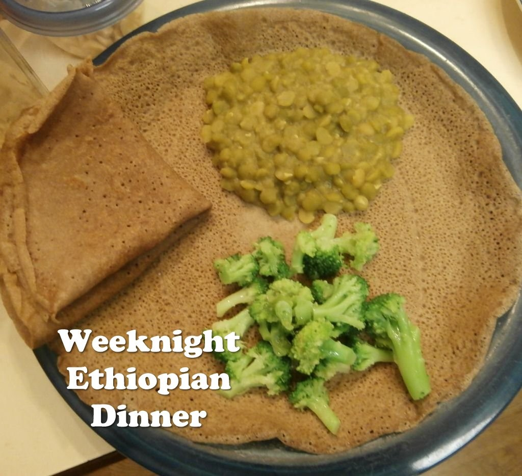 Quick Ethiopian Dinner