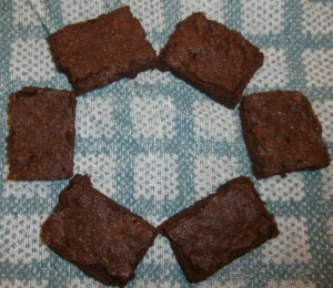Valerie Brownies in a ring