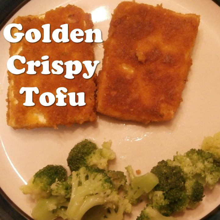 Golden Crispy Tofu
