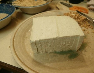 tofu, sliced for this recipe