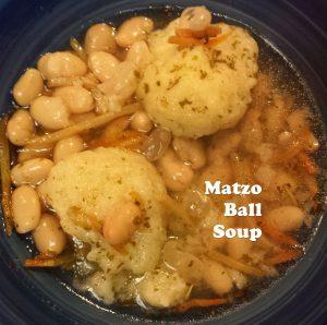 Matzo Ball Soup - gluten-free!