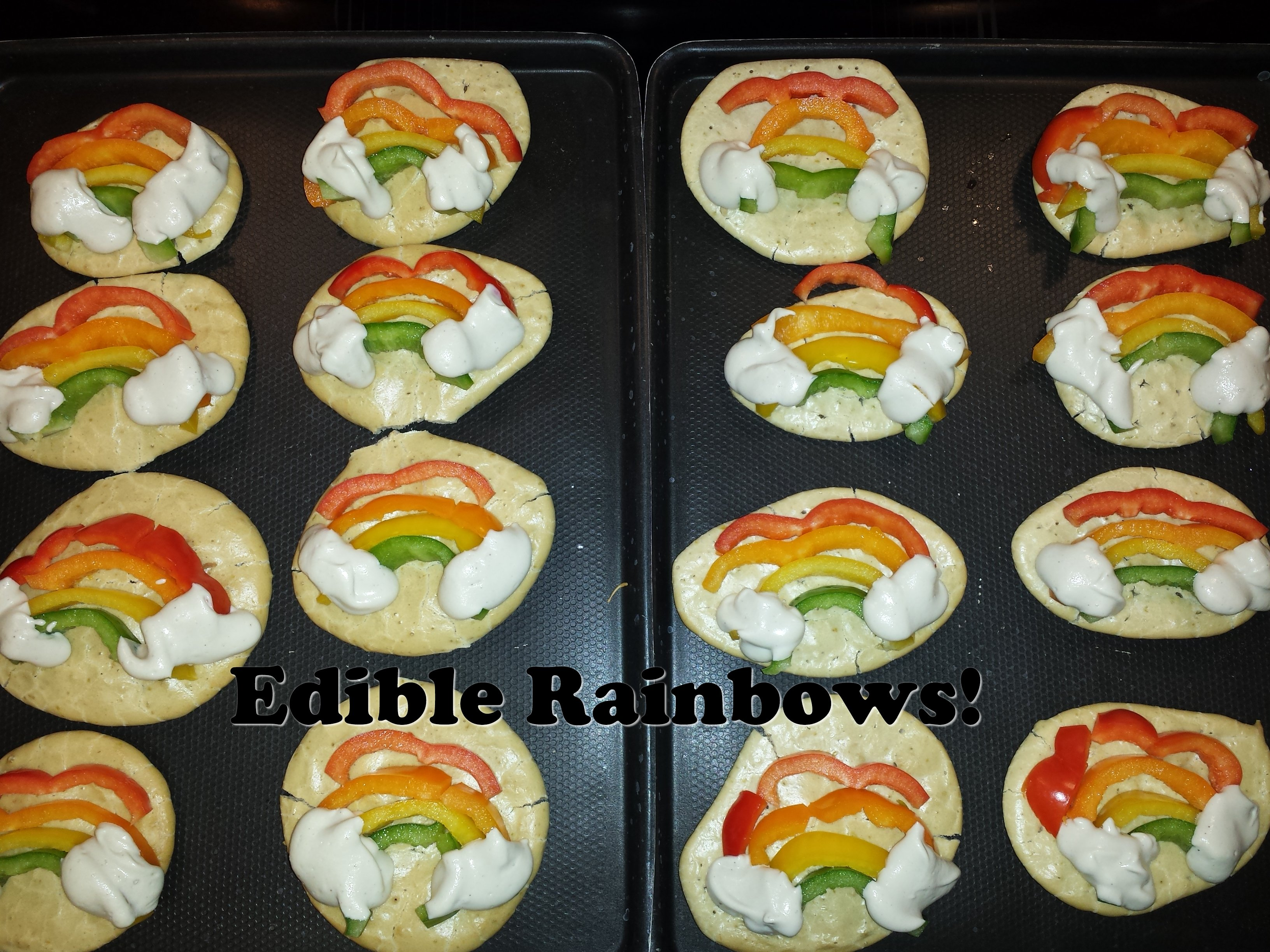 Edible Rainbows!