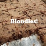 Blondies!