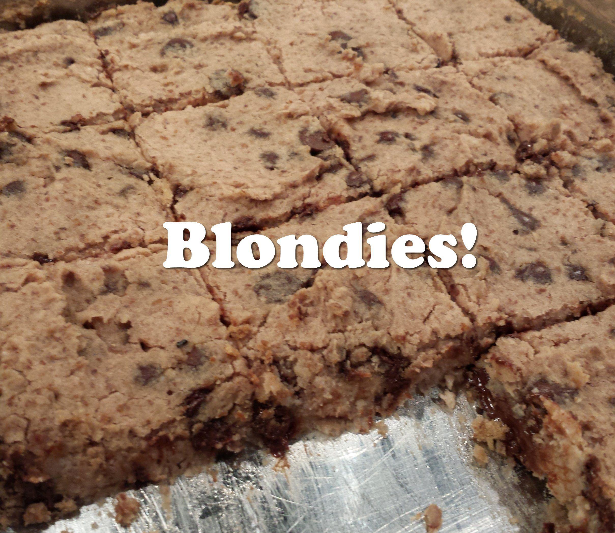 Blondies!