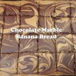 Chocolate Marble Banana Bread