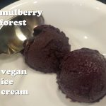 mulberry forest vegan ice cream