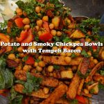 Potato and Smoky Chickpea Bowls with Tempeh Bacon